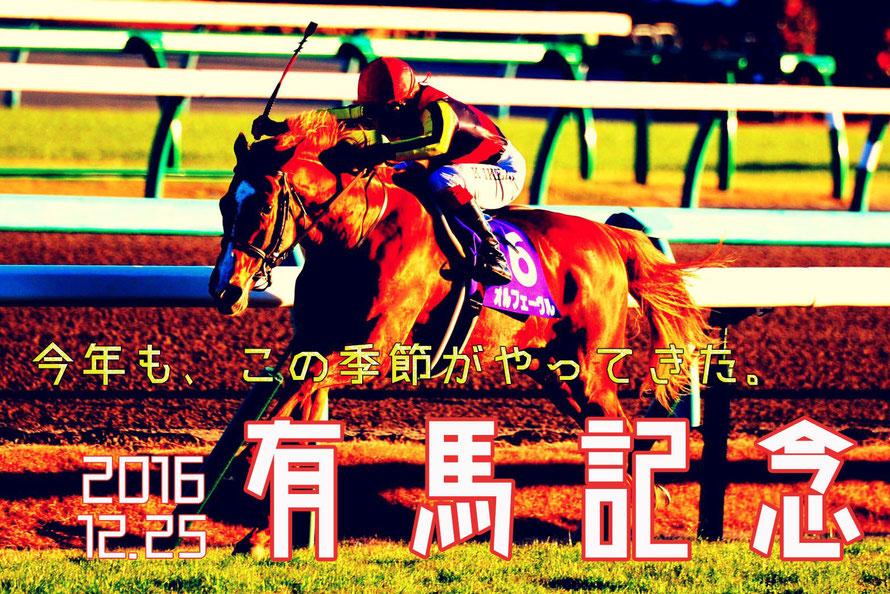 終わりは始まり~7週連続G1第7戦 有馬記念~